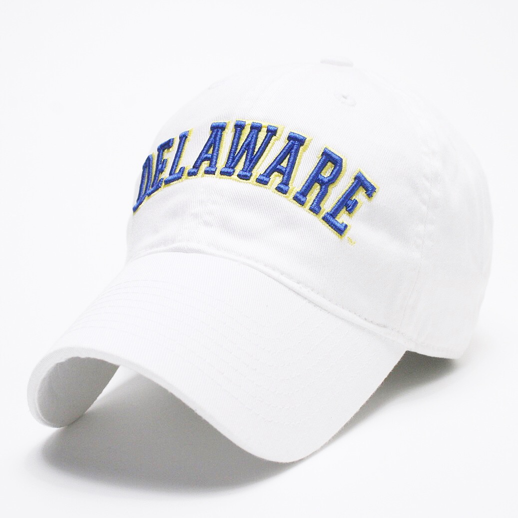 University of Delaware Arched Delaware Hat – White – National 5 and 10 ee2746d2e3b