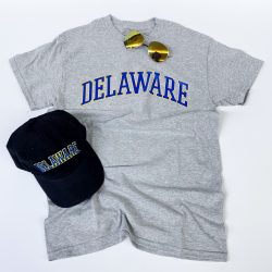 University of Delaware Arched Delaware T-shirt - Oxford