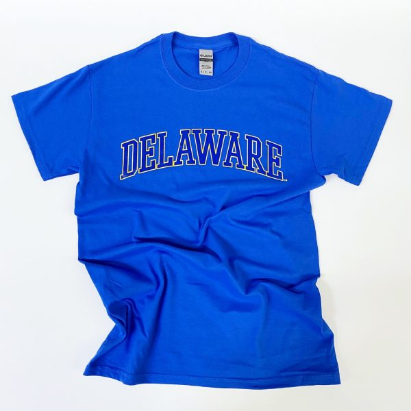 University of Delaware Arched Delaware T-shirt - Royal