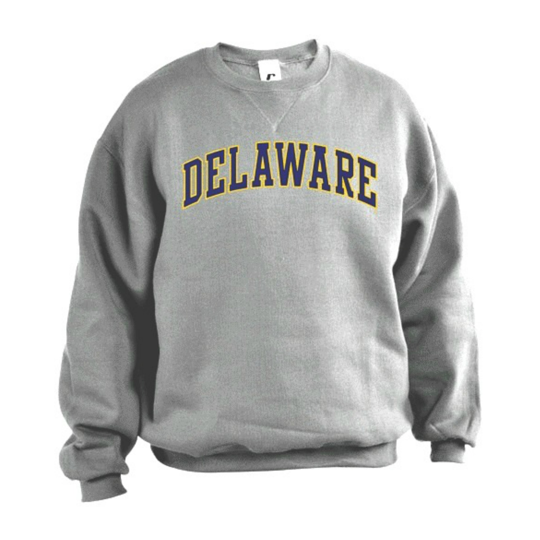 33a49a7c05 University of Delaware Arched Delaware Crew Neck Sweatshirt ...