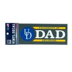 University of Delaware Dad Decal