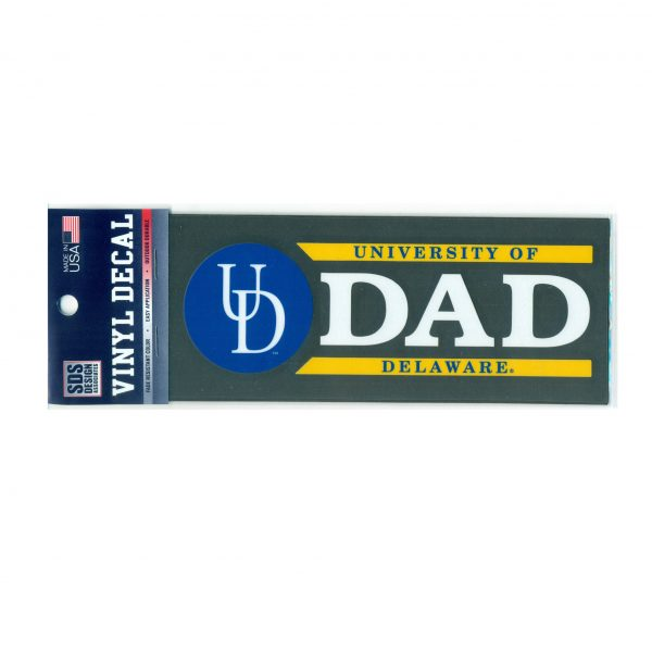 University of Delaware Dad Decal