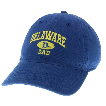 5e1f9ab7adc University of Delaware Dad Hat – Royal – National 5 and 10