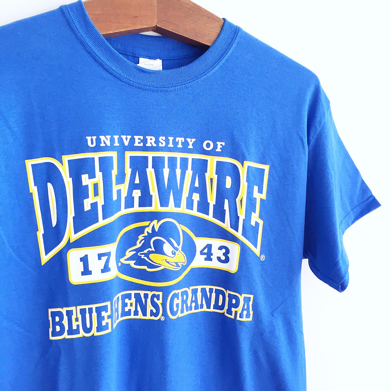6018a3c5cdf University of Delaware Grandpa T-shirt – Royal – National 5 and 10