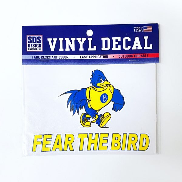 University of Delaware Fear The Bird Decal