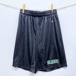 University of Delaware Badger Men's Athletic Shorts - Black