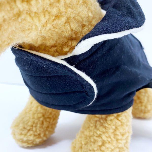 University of Delaware Fleece Hoodie Dog Coat