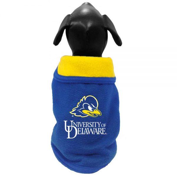 University of Delaware Polar Fleece Dog Jacket