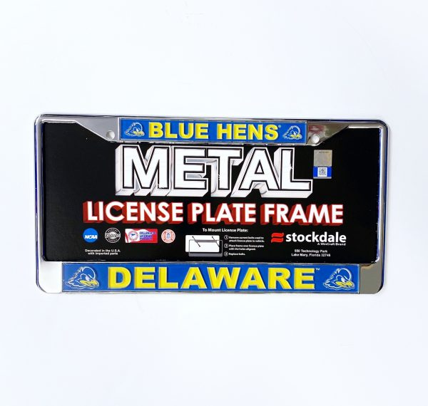 University of Delaware Blue Hens License Plate Frame