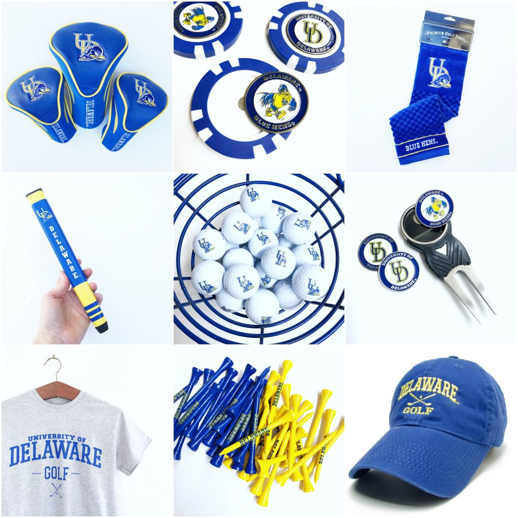 University of Delaware Golf Gear at National 5 & 10 Newark Delaware