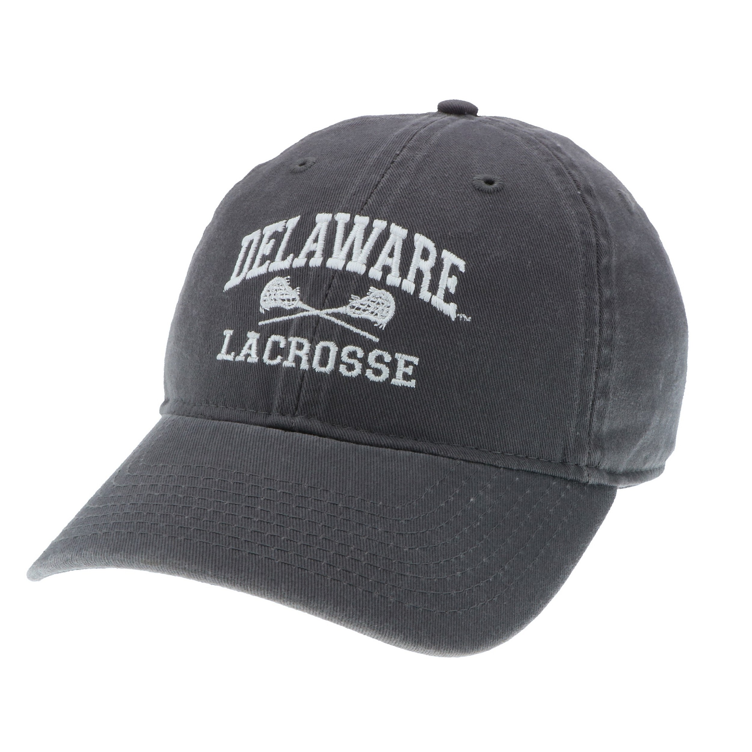 fd4cead19c5 University of Delaware Lacrosse Hat – Grey – National 5 and 10