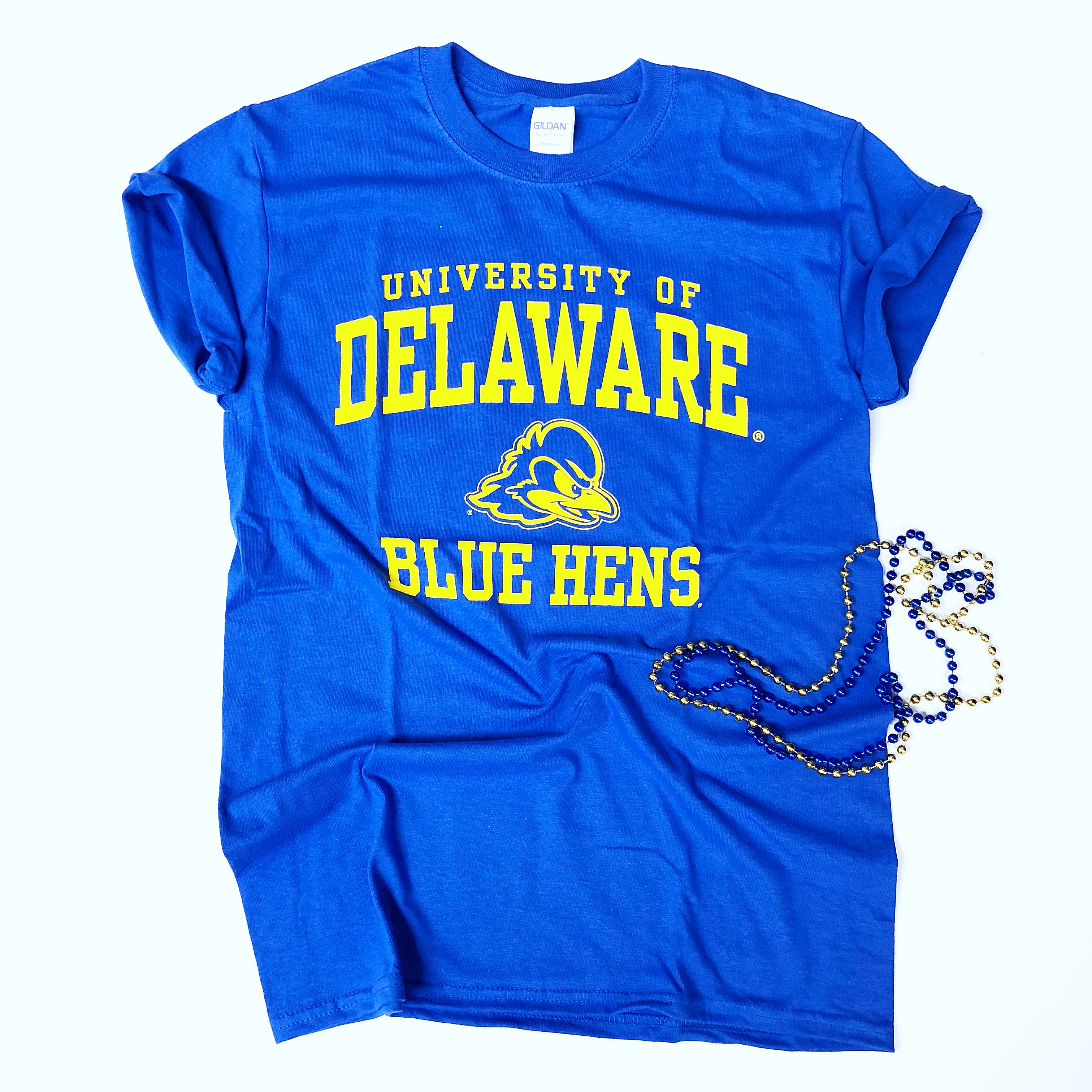 sale retailer 85661 b737b University of Delaware Blue Hens T-shirt - Blue