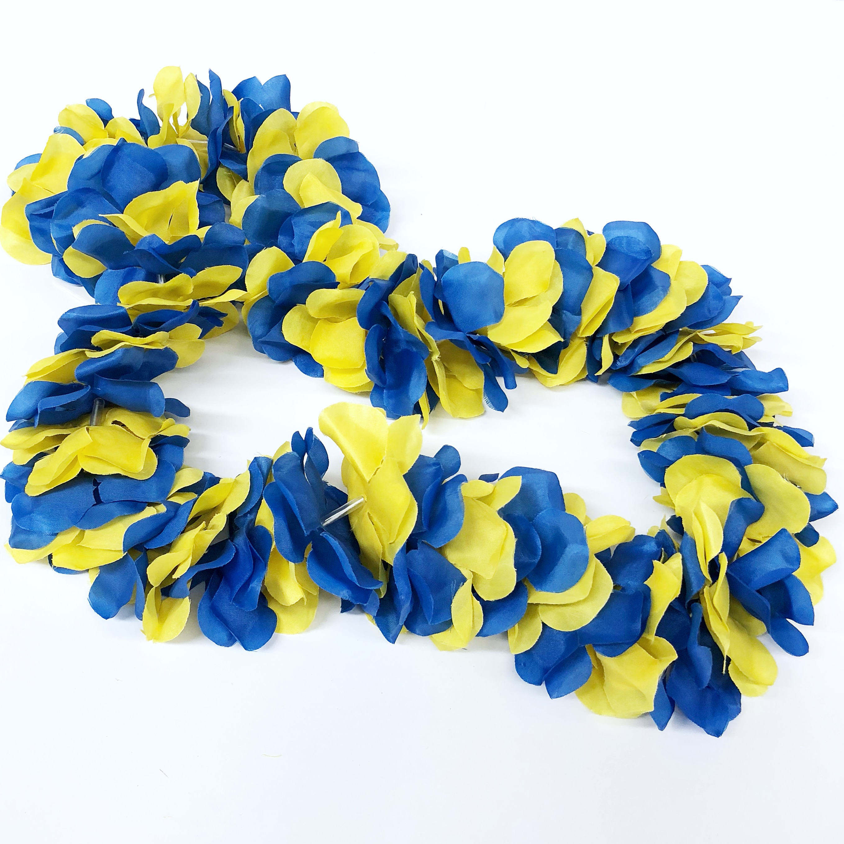 University Of Delaware Blue And Yellow Flower Lei National 5 And 10