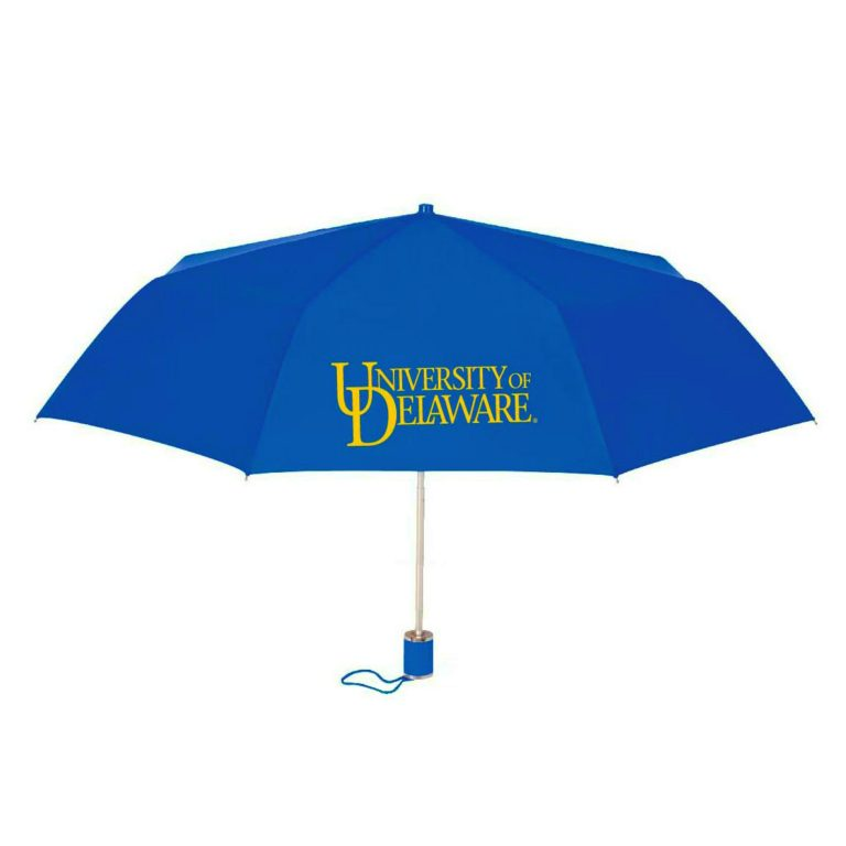 "University of Delaware 42"" Gel Handle Umbrella"