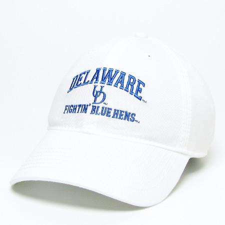 63628009cdd University of Delaware Fightin  Blue Hens Hat – White UD – National ...