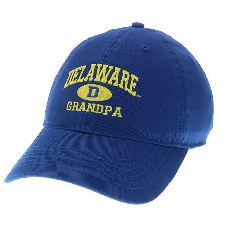 73ed91eb1cc University of Delaware Grandpa Hat – Royal – National 5 and 10