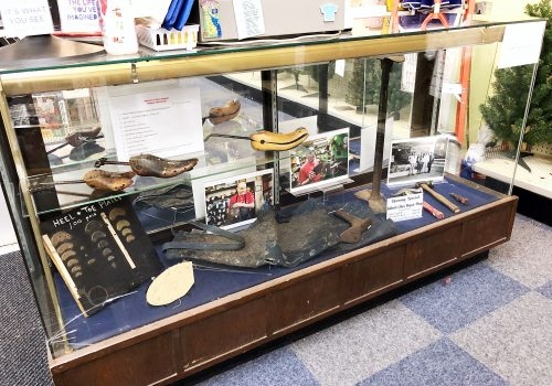 Abbott's Shoe Repair Shop Exhibit at National 5 & 10
