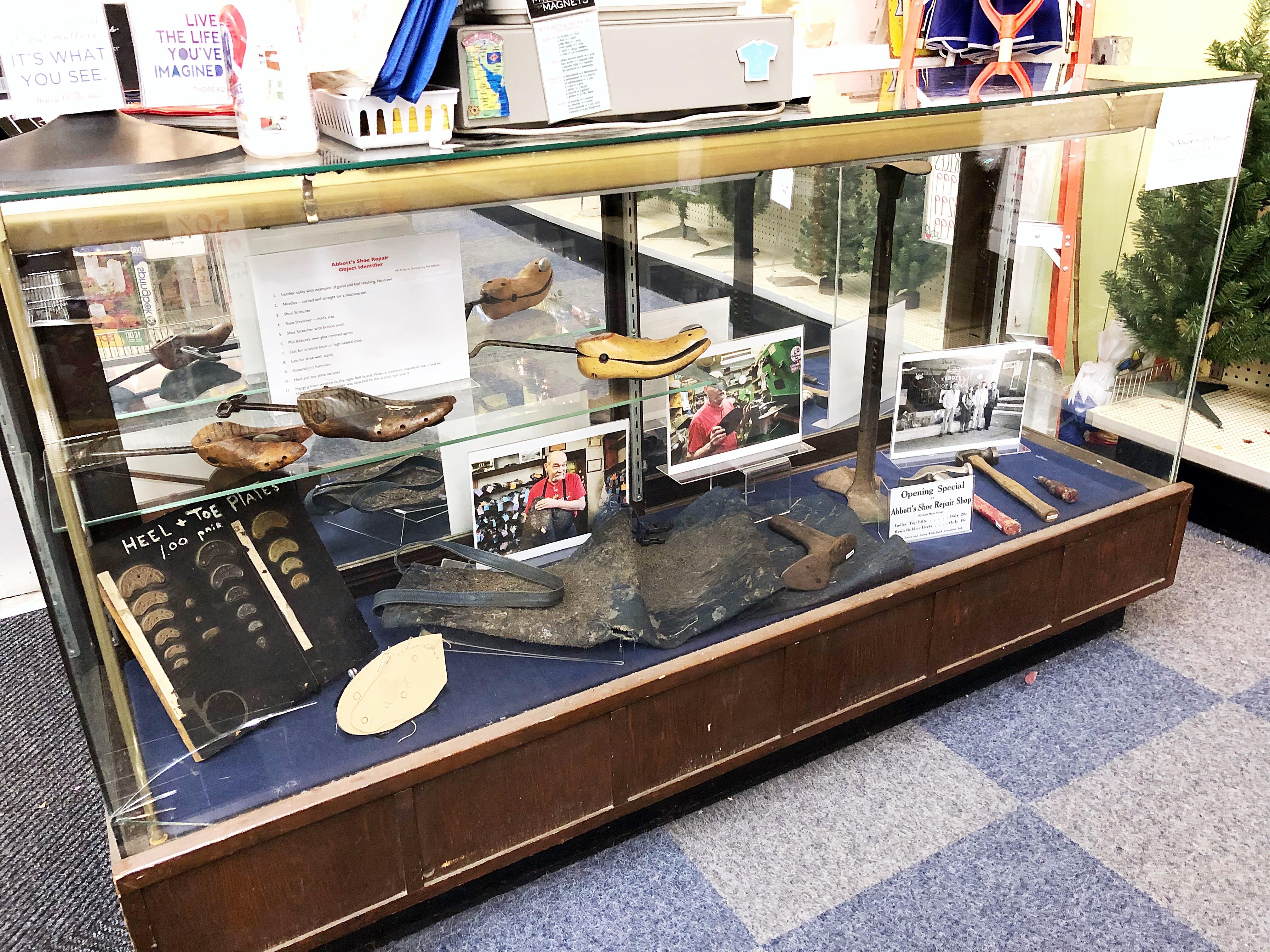 fa51d2342c220 Pop-Up Exhibit: Abbott's Shoe Repair Shop – National 5 and 10