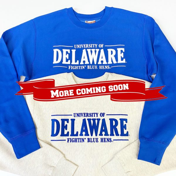 University of Delaware MV Tackle Twill Crewneck Sweatshirt