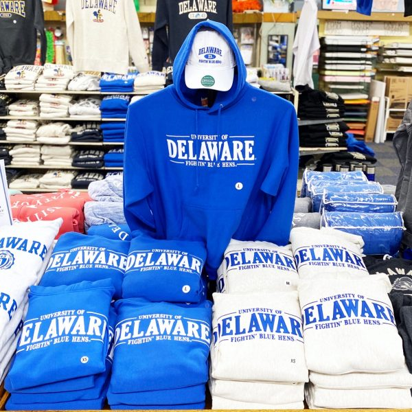 University of Delaware MV Tackle Twill Hoodie Sweatshirts