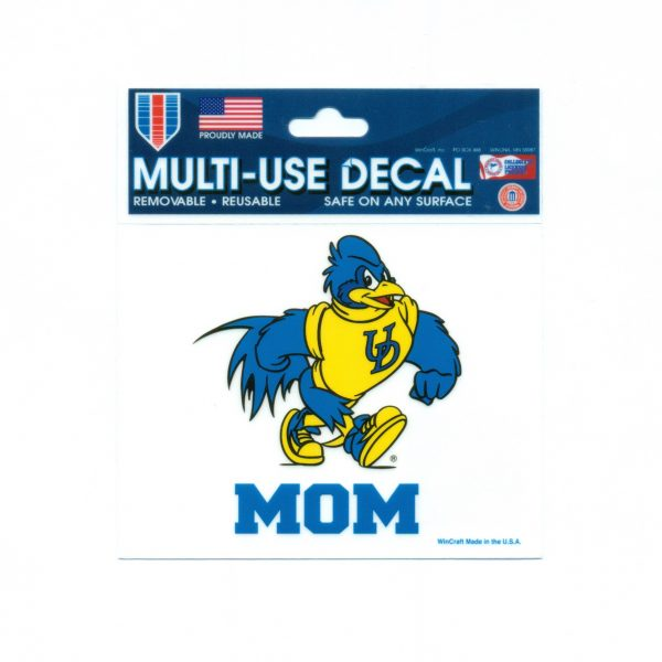 University Of Delaware Dog Paw Car Magnet National 5 And 10