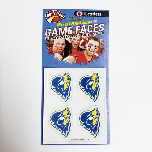 University of Delaware 3-Color YoUDee Temporary Tattoos