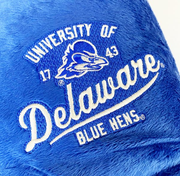 University of Delaware Sherpa Throw Blanket