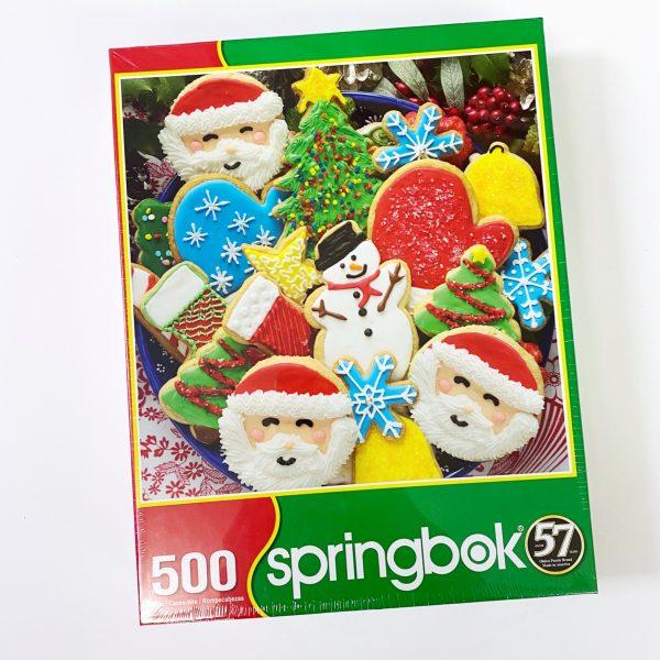 Christmas Cookie 500 Piece Springbok Puzzle
