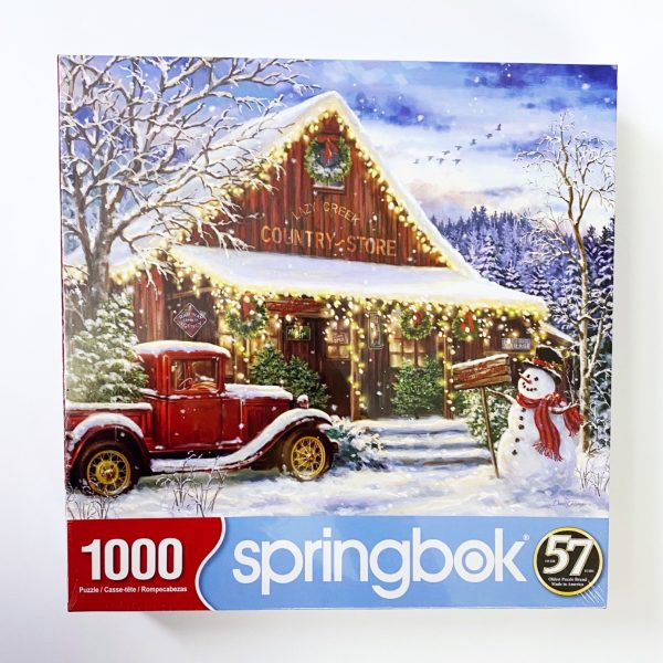 Lazy Creek Country Store 1000 Piece Springbok Puzzle