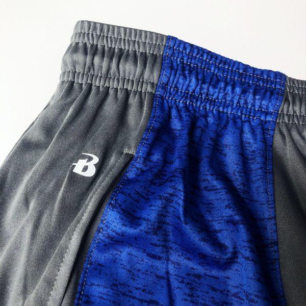 University of Delaware Men's Badger Tonal Panel Athletic Shorts