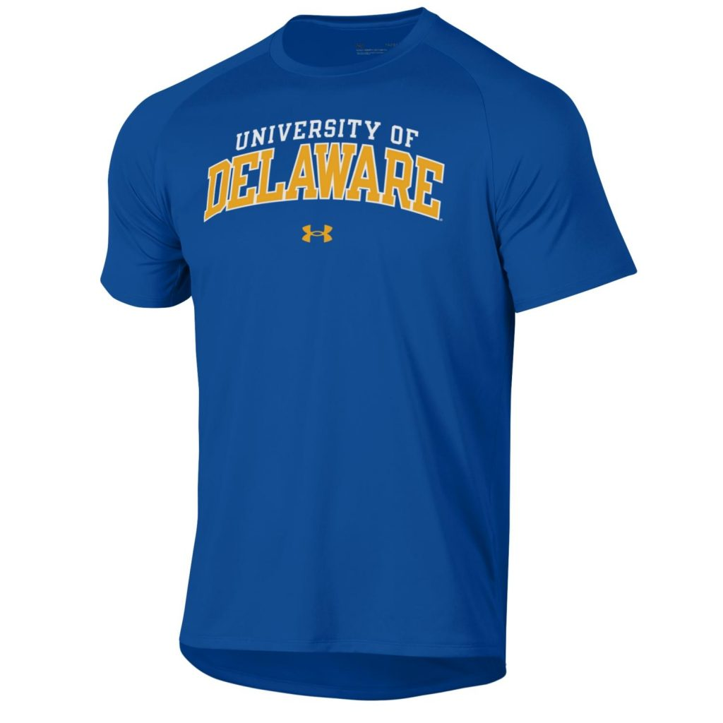University of Delaware Mens Under Armour 2-Color Performance t-shirt