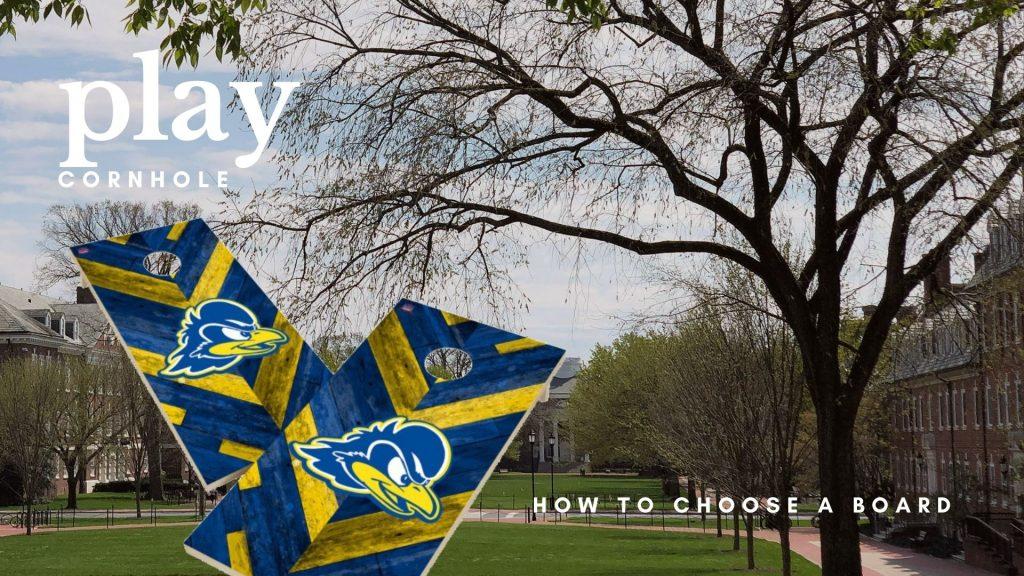 University of Delaware Cornhole Game