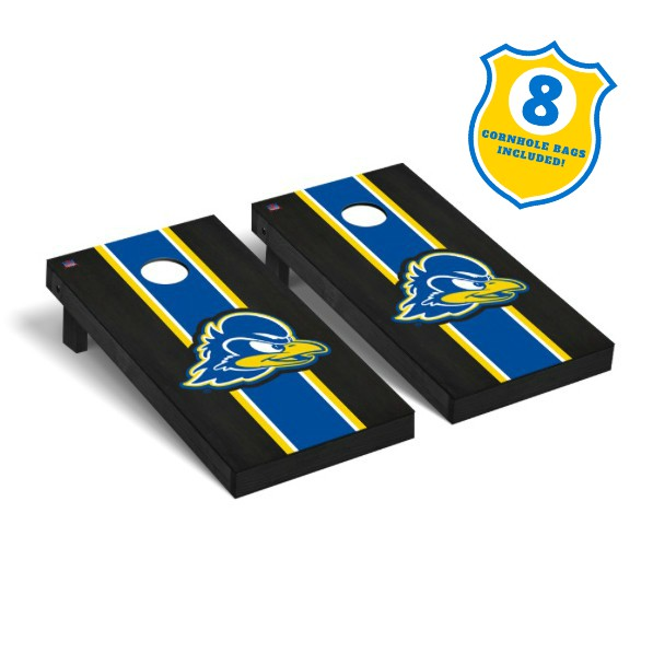 University of Delaware 2' x 4' Premium Onyx Cornhole Set