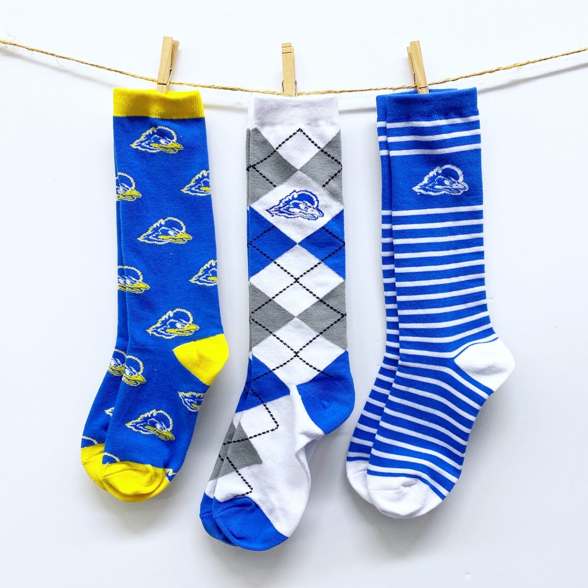 University of Delaware Fashion Socks