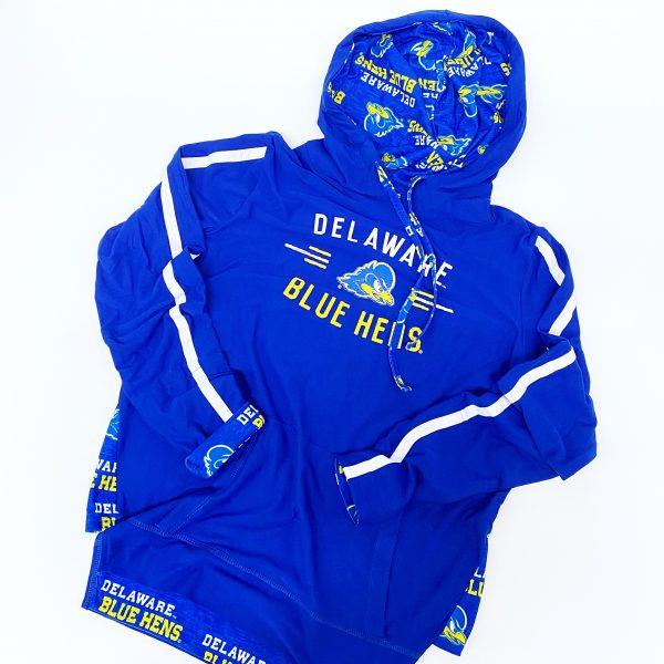 University of Delaware Women's Long-Sleeve Hoodie T-shirt