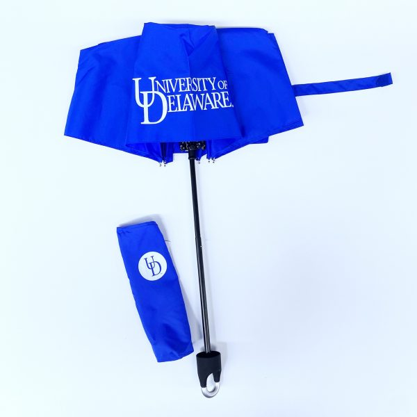 "University of Delaware 42"" Storm Clip Umbrella"