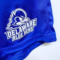 University of Delaware Badger Men's Athletic Short with Pockets - Royal