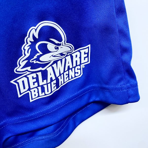 University of Delaware Badger Men's Athletic Short with Pockets - Royal