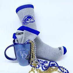 """University of Delaware """"Perfect Pair"""" Sock and Mug gift set"""